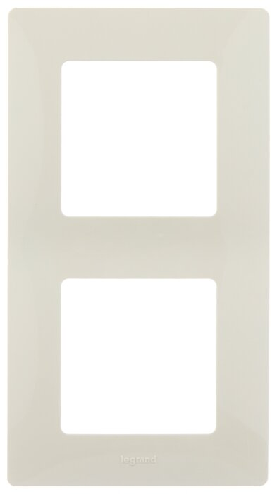 Рамка 2п Legrand Etika 672512, слоновая кость