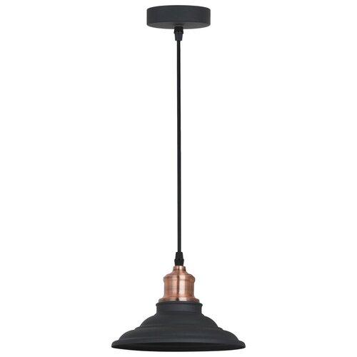 Потолочный светильник Arte Lamp Lido A5067SP-1BK, E27, 60 Вт потолочный светильник arte lamp ferrico a9183sp 1bk e27 60 вт