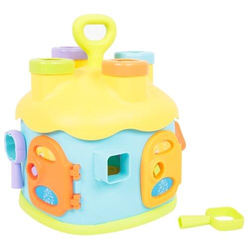 Сортер Игруша Домик Double Fun каталки игрушки игруша машинка сортер i 22086
