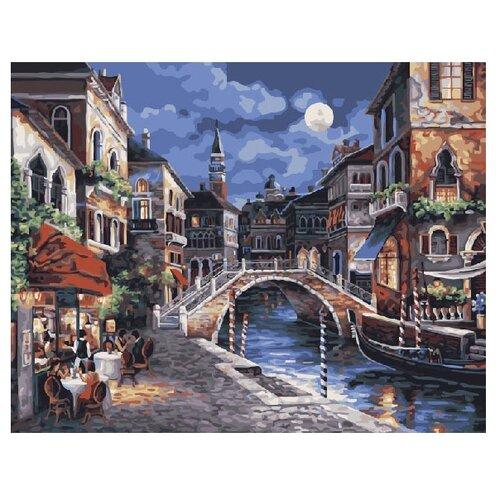 Купить ВанГогВоМне Картина по номерам Ещё одна ночь в Венеции , 40х50 (ZX 20006), Картины по номерам и контурам
