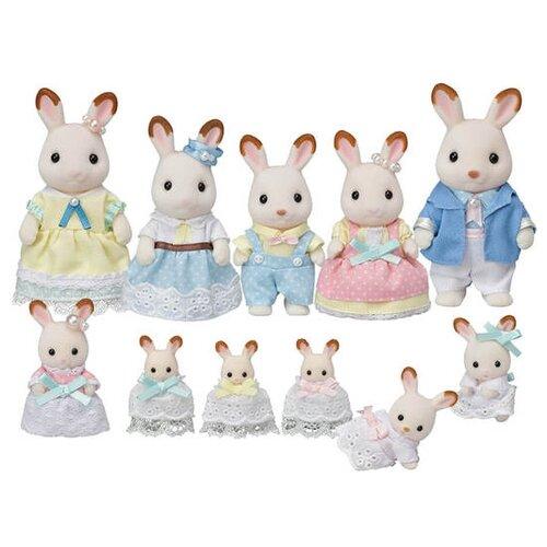 Купить Игровой набор Sylvanian Families Семейное торжество Шоколадных кроликов 5506, Игровые наборы и фигурки
