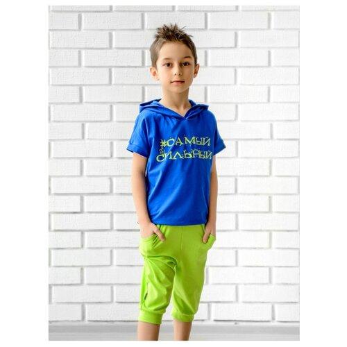 Комплект одежды looklie размер 128-134, васильковыйКомплекты и форма<br>