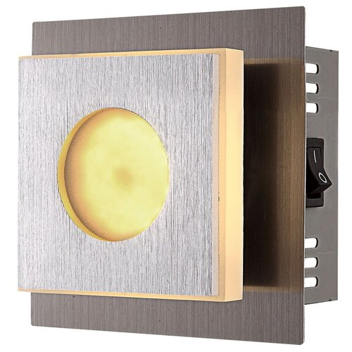 Фото - Бра Globo Lighting Cayman 49208-1, с выключателем, 4 Вт бра paulmann hemisphere 66630 с выключателем 4 5 вт