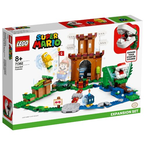 Конструктор LEGO Super Mario 71362 Дополнительный набор Охраняемая крепость, Конструкторы  - купить со скидкой