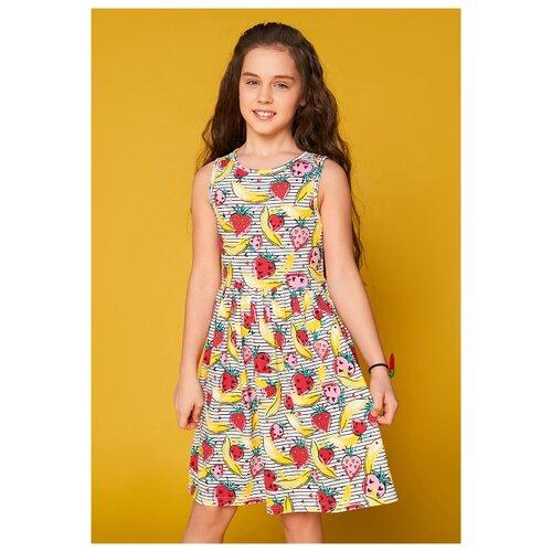 Купить Платье INFUNT размер 146, цветной, Платья и сарафаны