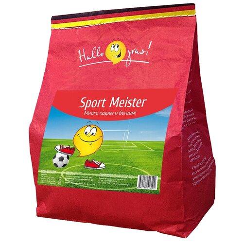 Смесь семян для газона Hallo Gras! Sport Meister, 1 кг недорого
