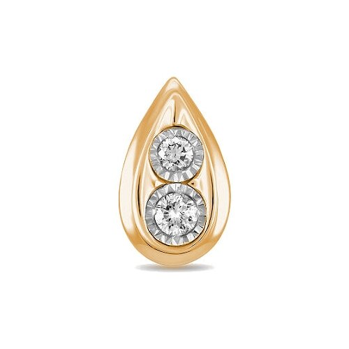 Фото - ЛУКАС Подвеска с 2 бриллиантами из красного золота P01-D-IGP-12758 лукас подвеска с 19 бриллиантами из красного золота p01 d 33651