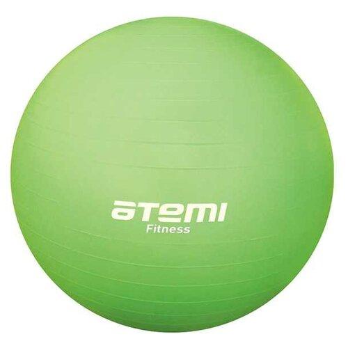 Фитбол ATEMI AGB-01-55, 55 см салатовый фитбол atemi agb 01 55 55 см салатовый
