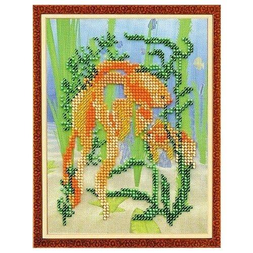Купить Набор для вышивания «Радуга бисера» В-216 Золотая рыбка, Наборы для вышивания