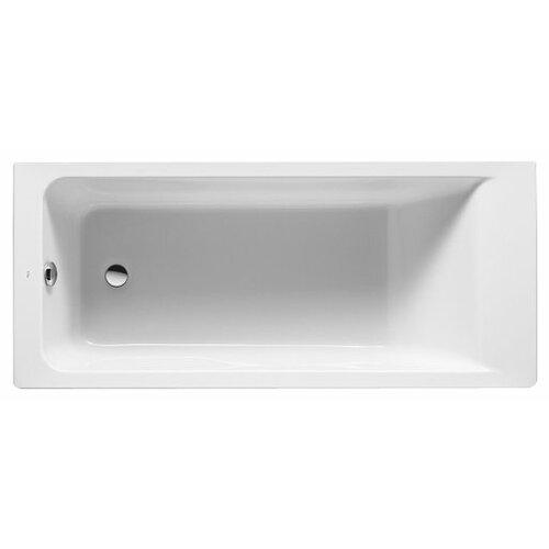 Ванна Roca Easy 170x75 ZRU9302899 без гидромассажа акрил ванна из искусственного камня jacob delafon elite 170x75 с щелевидным переливом e6d031 00 без гидромассажа