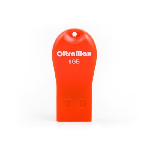 Фото - Флешка OltraMax 210 8GB orange флешка oltramax 50 8gb white