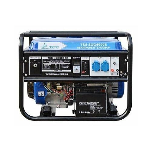 Бензиновый генератор ТСС SGG-6000 E (6000 Вт)