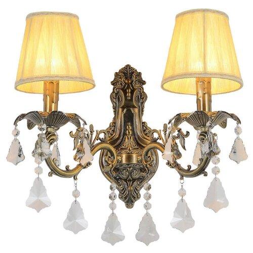 Настенный светильник Omnilux Catanzaro OML-30811-02, 80 Вт бра omnilux oml 62201 02
