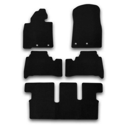 Комплект ковриков KLEVER KVR01489401200k для Toyota Land Cruiser 5 шт. черный