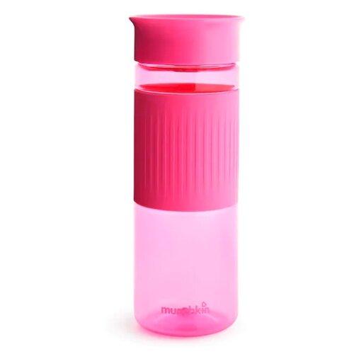Бутылка для безалкогольных напитков, для воды Munchkin Miracle Hydration Bottle 360° Cup (710 мл) 0.71 пластик розовый