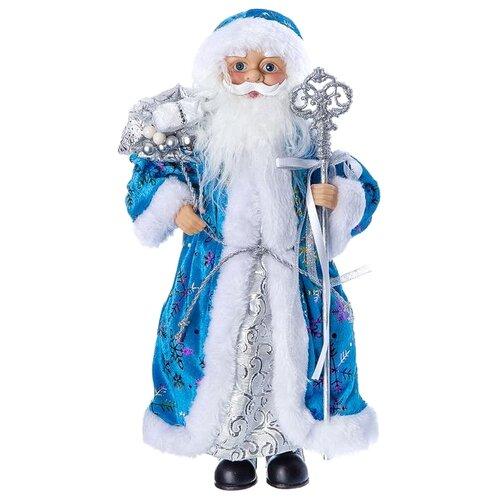 Фигурка SNOWMEN Дед Мороз 36 см (Е96404) голубой/синий