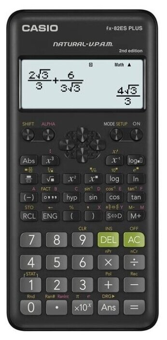Калькулятор научный CASIO FX-82ES PLUS 2nd edition