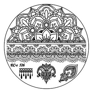Трафарет EL Corazon EC-s 526 5.6 х 5.6 см
