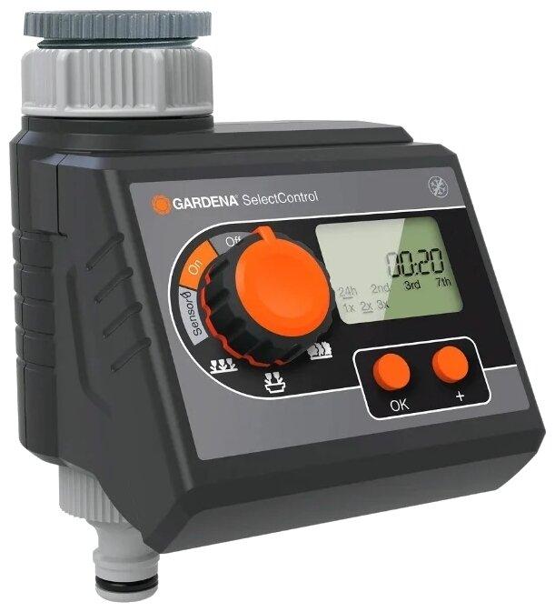 Таймер подачи воды SelectControl Gardena 01885-29.000.00/01892-000.00