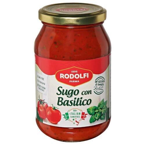 Соус Rodolfi томатный с базиликом, 400 г unidan соус томатный с хреном 500 г