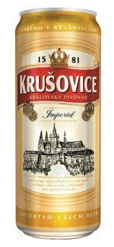 Пиво светлое Krusovice Imperial 0,5 л