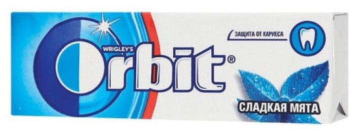 Жевательная резинка Orbit Сладкая мята, без сахара 13,6 г