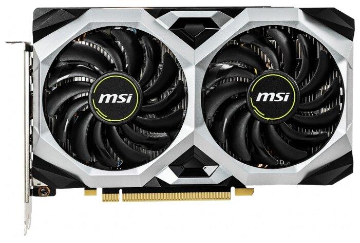 Видеокарта MSI GeForce GTX 1660 Ti Ventus XS 6G OC