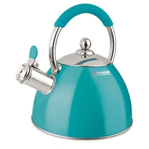 Rondell Чайник Turquoise RDS-939 2 л бирюзовый чайник rondell odem 2 4l rds 1059