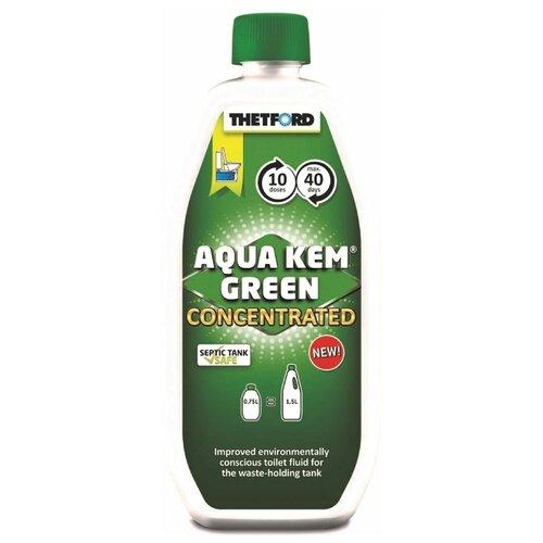 Фото - Жидкость для нижнего бака биотуалета Thetford Aqua Kem Green Concentrated, 0,75л расщепитель для нижнего бака thetford aqua kem blue weekender