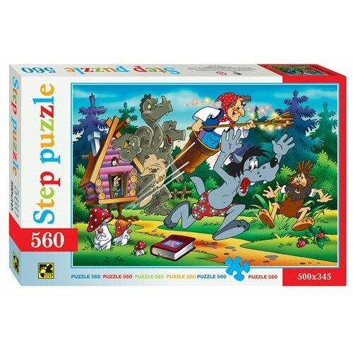 Пазл Step puzzle Ну, погоди! (78005), 560 дет. step puzzle кубики ну погоди