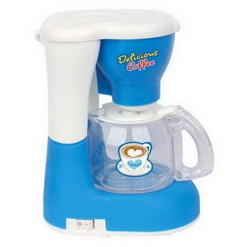 Купить Кофеварка Shantou Gepai Mini Household 3521-27 белый/голубой, Детские кухни и бытовая техника