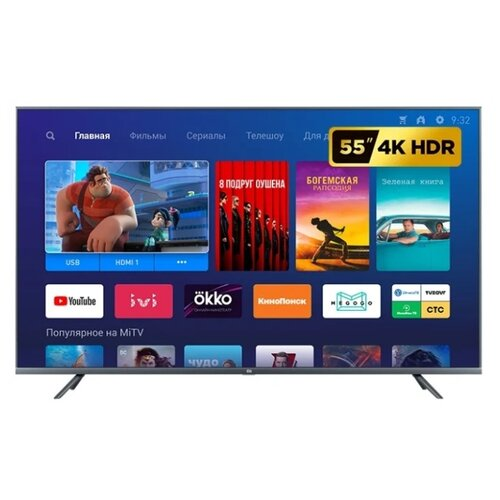 Телевизор Xiaomi Mi TV 4S 55 T2 Global 54.6 (2019) черный ghassem homaifar a managing global financial and foreign exchange rate risk