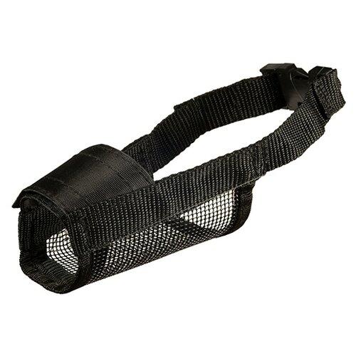 Намордник для собак КАСКАД Classic М (04010002), обхват морды 17-25 см черный