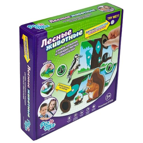 Купить Настольная игра Pic'n Mix Лесные животные, Настольные игры