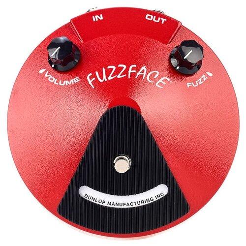 Dunlop педаль JDF2 Fuzz Face Distortion dunlop ffm4 joe bonamassa fuzz face mini distortion limited edition pedal