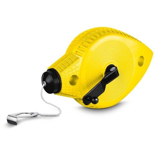 Шнур STANLEY в металлическом корпусе желтый шнур меловой разметочный stanley 30 м