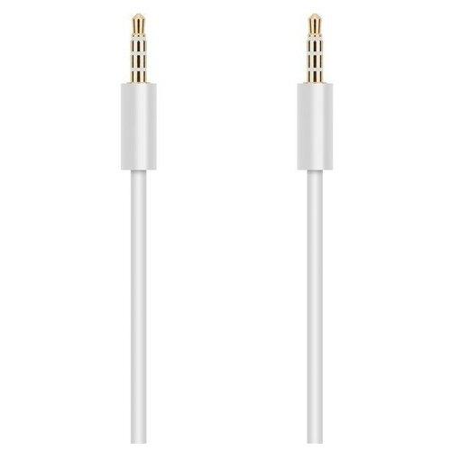 Krutoff / Аудио кабель AUX Krutoff Classic, белый 1m (пакет)