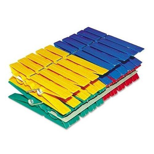 York прищепки пластиковые разноцветные Макси 20 шт. разноцветный
