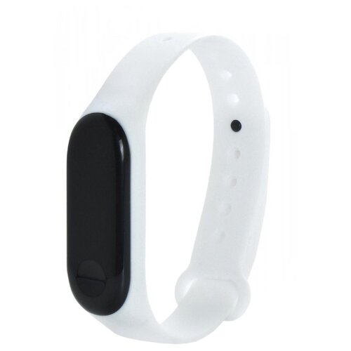 Gurdini Ремешок силиконовый для Xiaomi Mi Band 3 белый