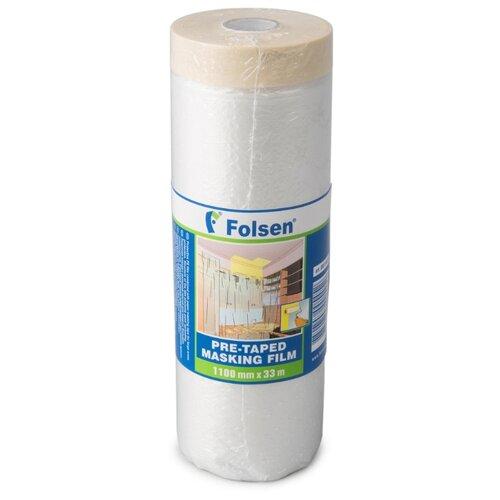 Защитная пленка Folsen 99110033, 33 м, прозрачный