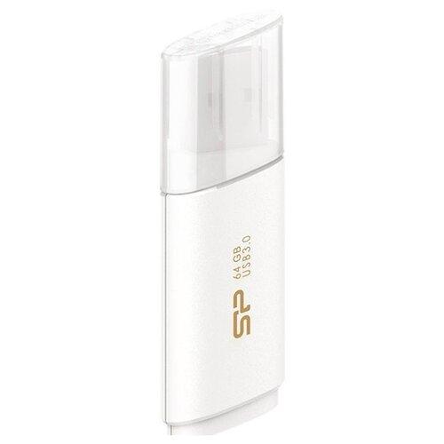 Купить Флешка Silicon Power Blaze B06 64GB белый