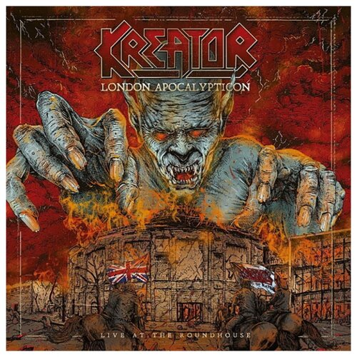 Kreator – London Apocalypticon: Live At The Roundhouse (CD) макс бойс max boyce live at treorchy we all had doctors papers 2 cd