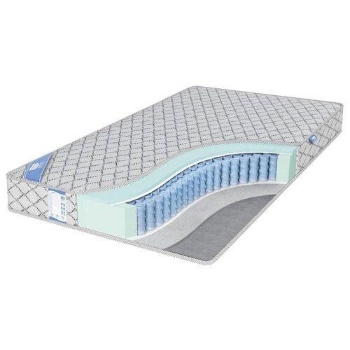 Матрас Промтекс-Ориент EcoMP Стандарт Сайд 180x200 пружинный серебристый матрас промтекс ориент ecomp стандарт 2 180x200 ортопедический пружинный серебристый
