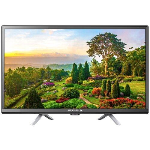 Телевизор SUPRA STV-LC24ST0075W 24 (2020), черный телевизор supra stv lc40lt0055f 40 черный