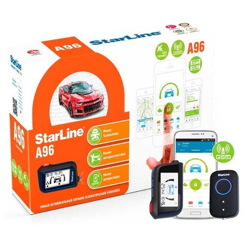 Автосигнализация StarLine A96 2CAN+2LIN GSM/GPS gps маяк starline m36