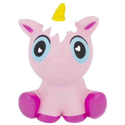 Игрушка-мялка Dolemikki Единорожек WJ0074 фиолетовый