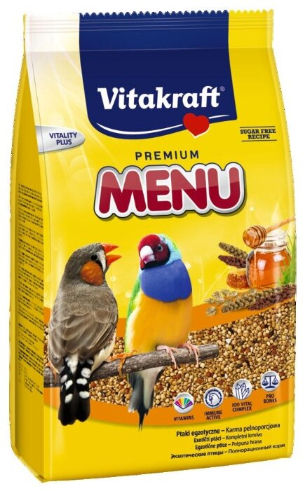 Корм для экзотических птиц Vitakraft