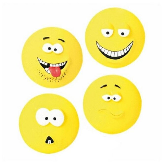 Мячик для собак TRIXIE Smileys (35265)