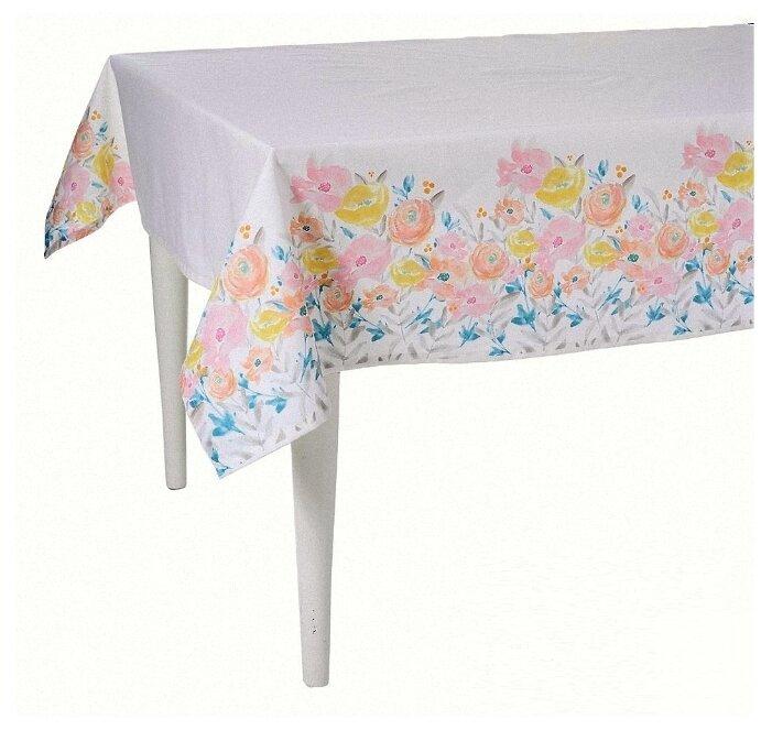 Скатерть Altali Enjoy (P534-8343/1) 140х140 см белый/розовый
