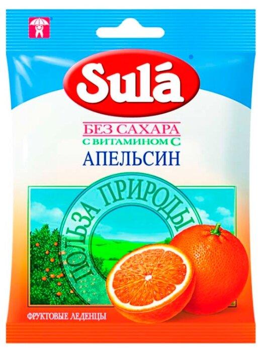 Леденцы Sula Апельсин 60 г